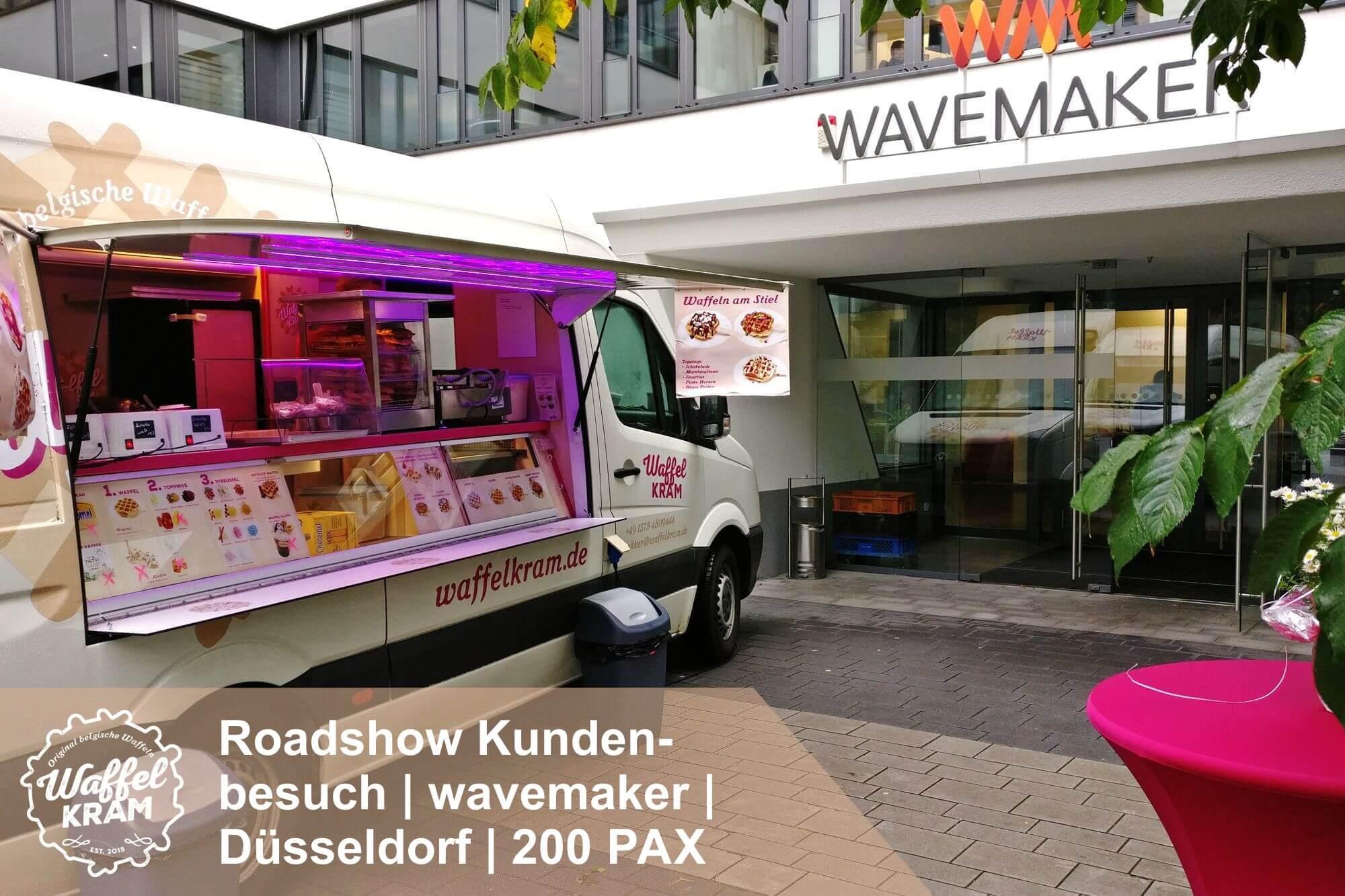 catering-roadshow-kundenbesuch-wavemaker-duesseldorf-tx